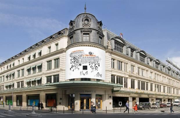 Le Bon Marché Parisian Department Store Selective