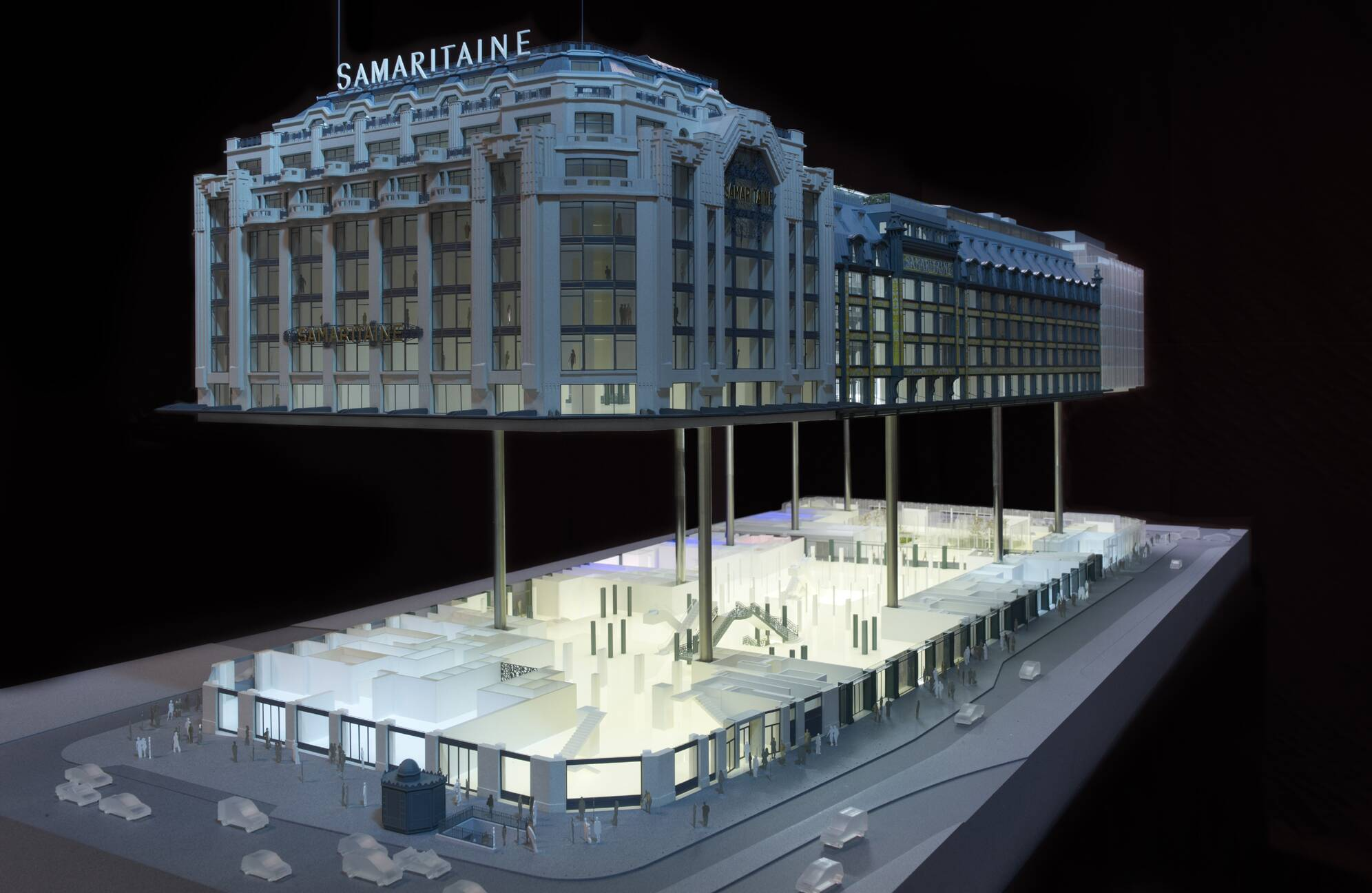 Samaritaine emblematic building in paris other for Model agency apartments