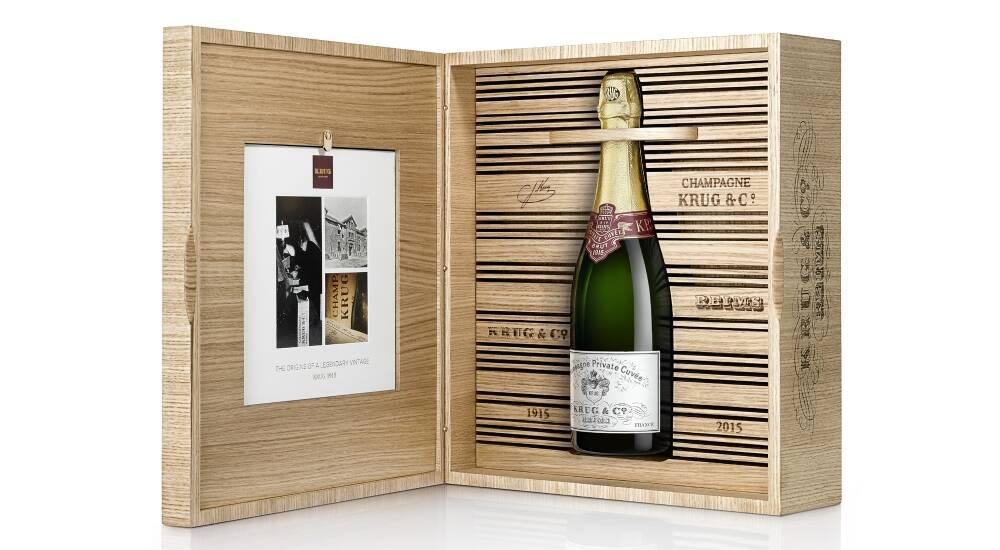 Krug Private Cuvée 1915 Vin et marketing expérientiel Oenostory