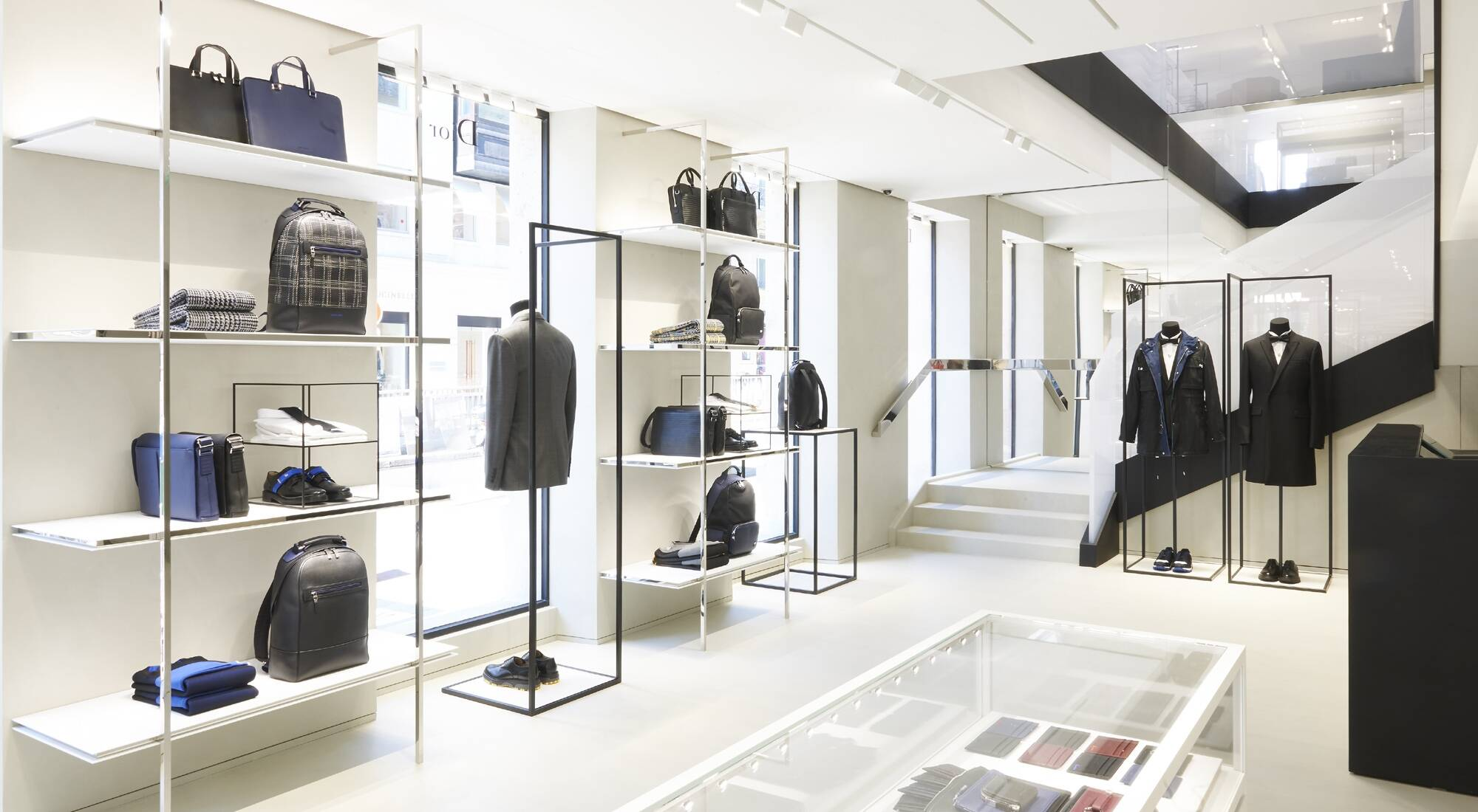 New Dior Homme Store In Paris Lvmh
