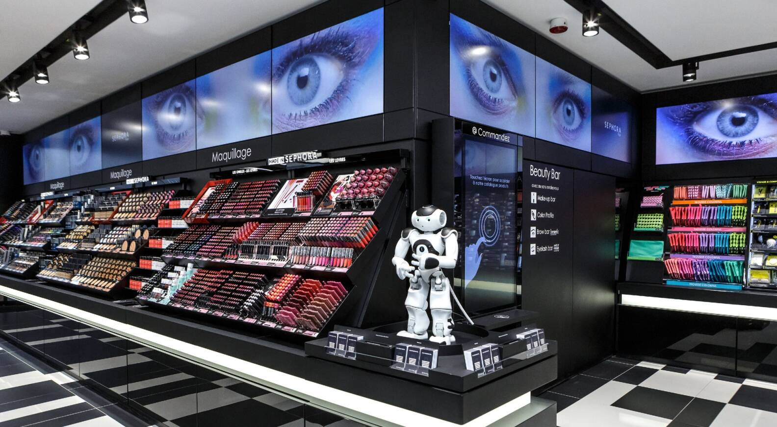 sephora flash the connected beauty store lvmh