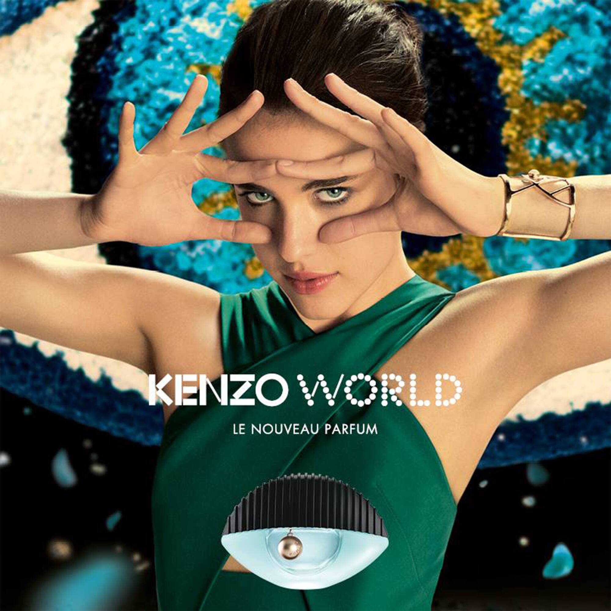 kenzo unveils new kenzo world fragrance lvmh. Black Bedroom Furniture Sets. Home Design Ideas