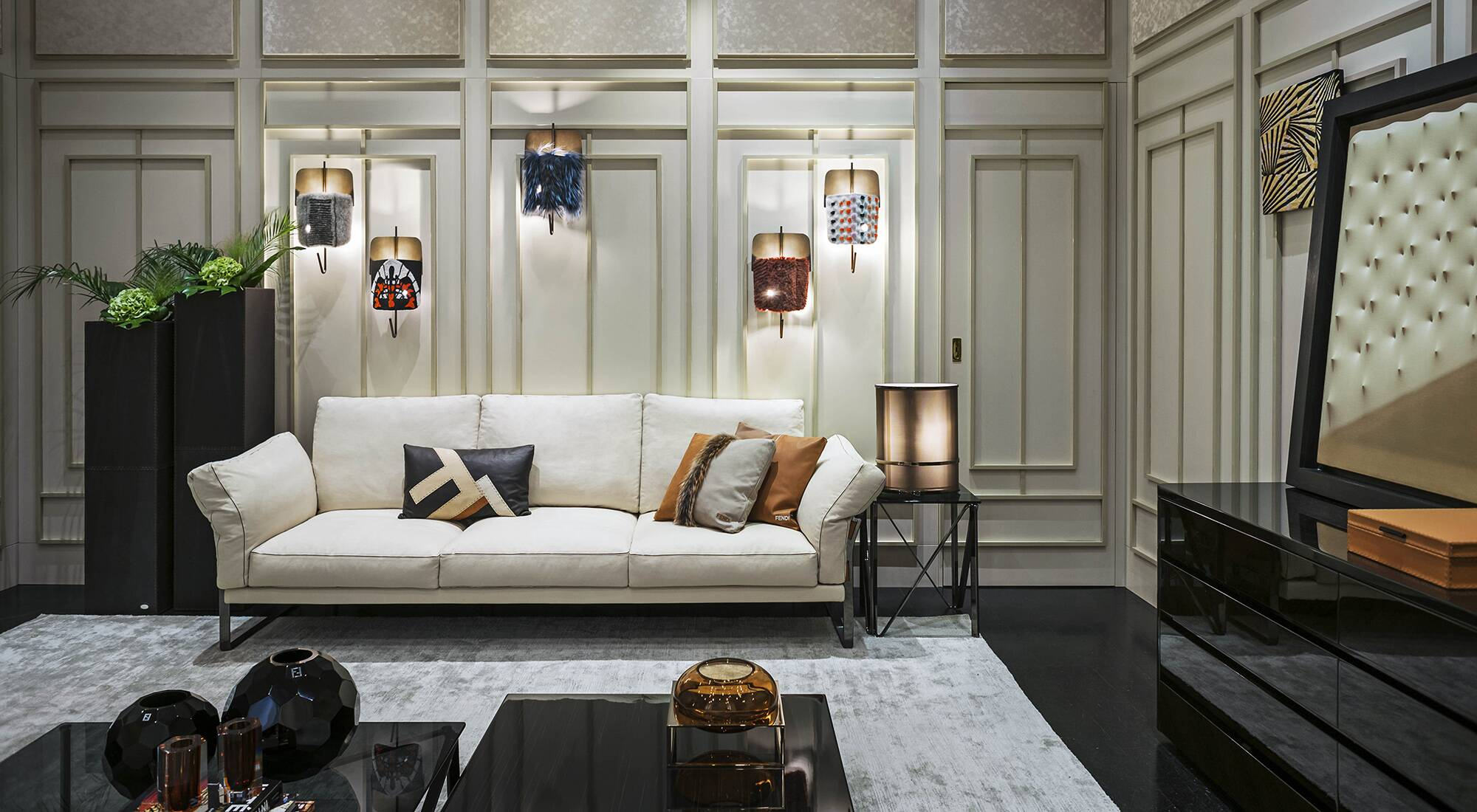 First fendi casa flagship opens in milan lvmh for Fendi casa milano