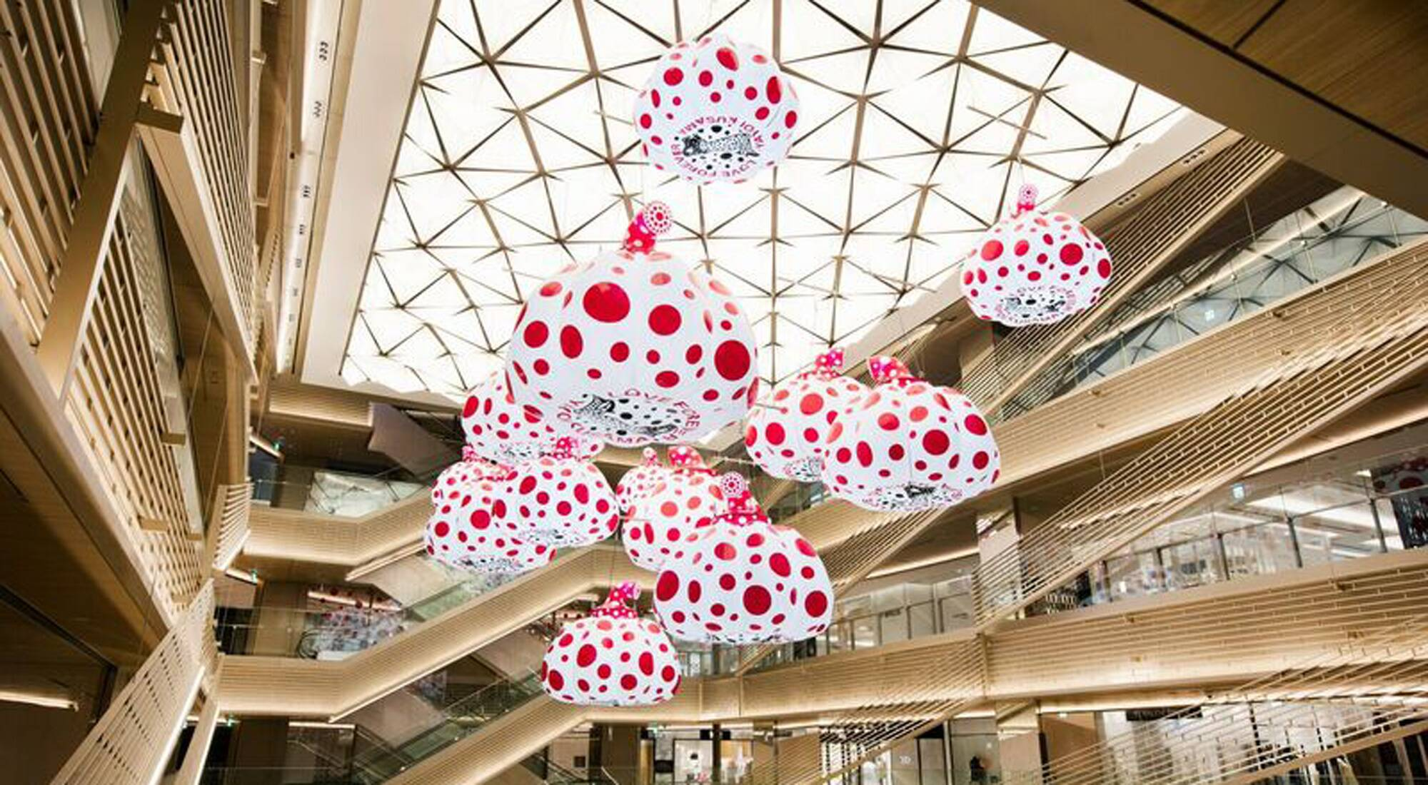 Ten lvmh maisons open in ginza six retail complex in tokyo for Interior site