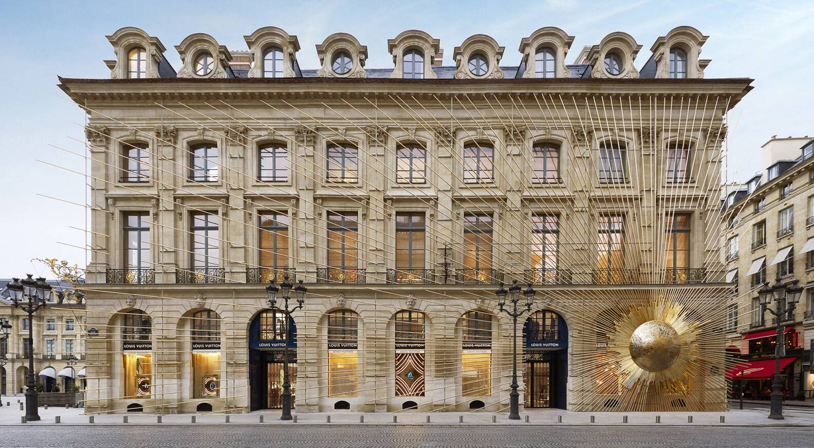 Faire 2 Appartements Dans Une Maison louis vuitton returns to roots with inauguration of maison