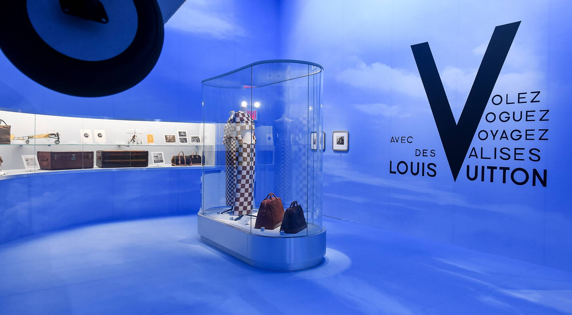 "b54cc4d151f Louis Vuitton exhibition ""Volez"