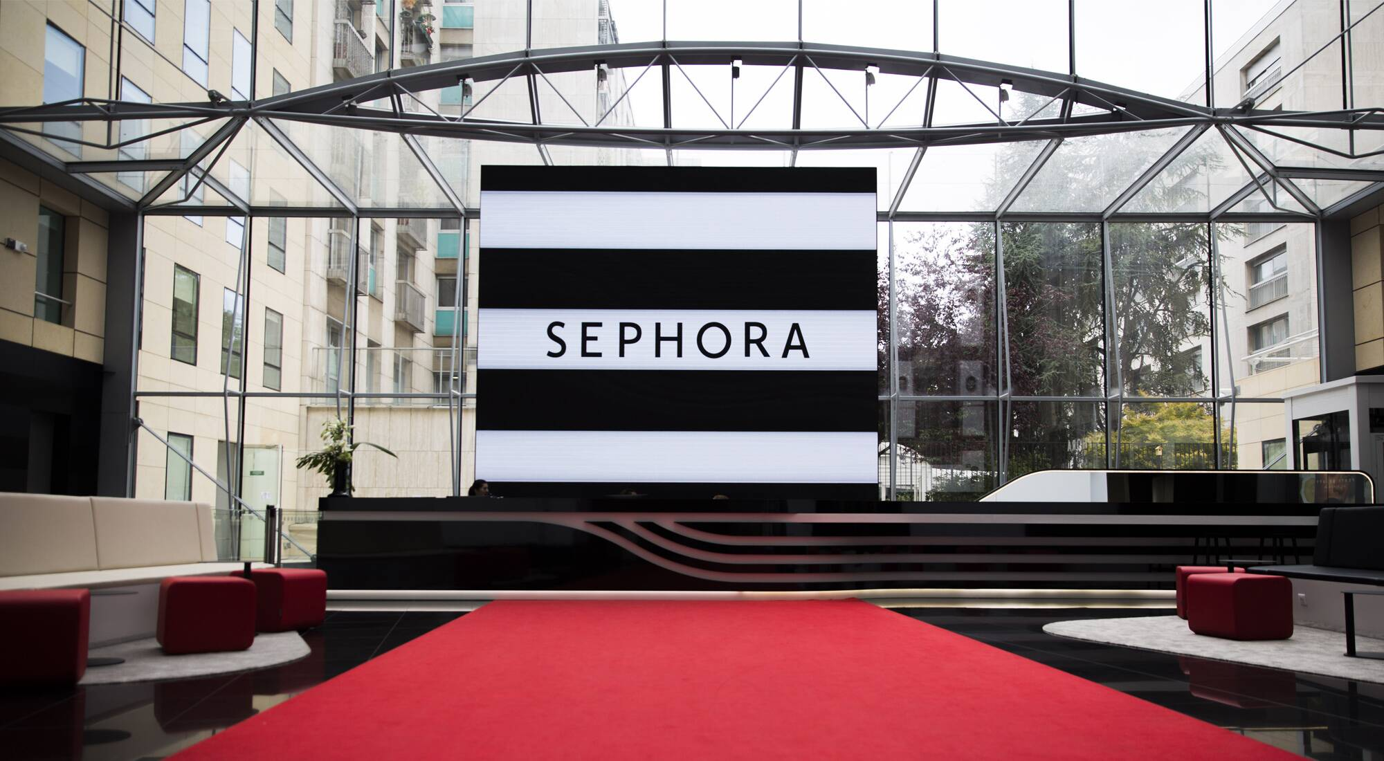 Sephora Inaugurates New Headquarters In Neuilly Sur Seine