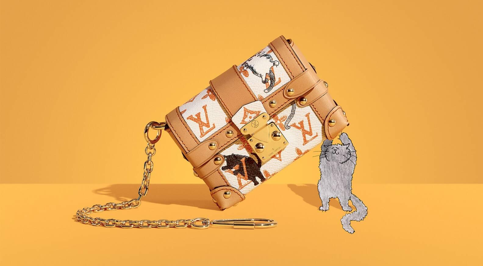 f94662e9d4c7 Louis Vuitton unveils capsule collection with Grace Coddington ...