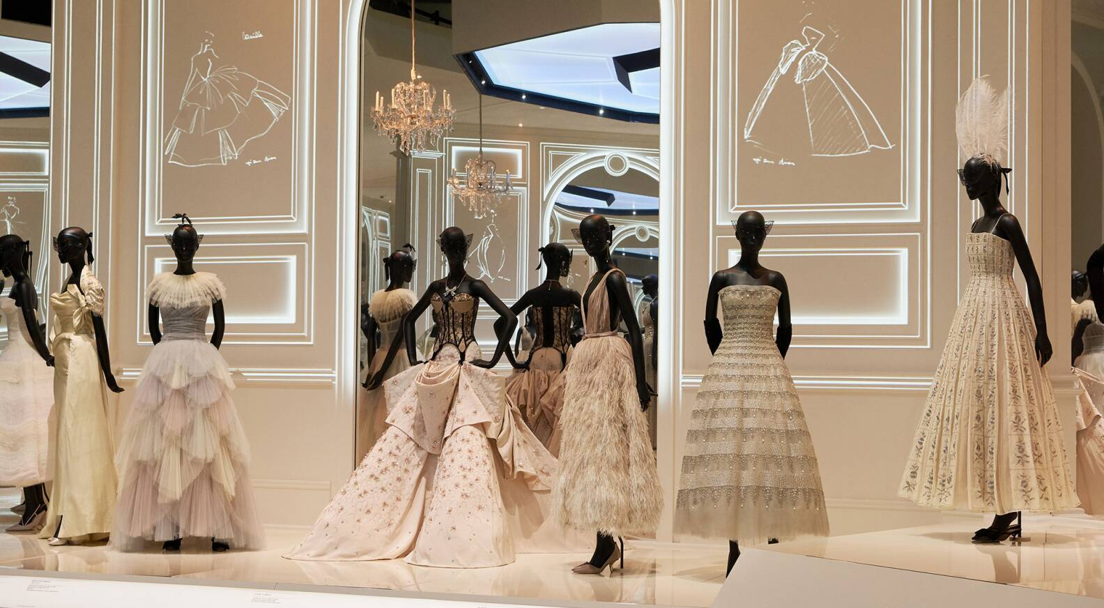 "3ef9f91ebfaf ""Christian Dior  Designer of Dreams""  Victoria and Albert Museum in London  welcomes largest ever Dior exhibition in the UK - LVMH"