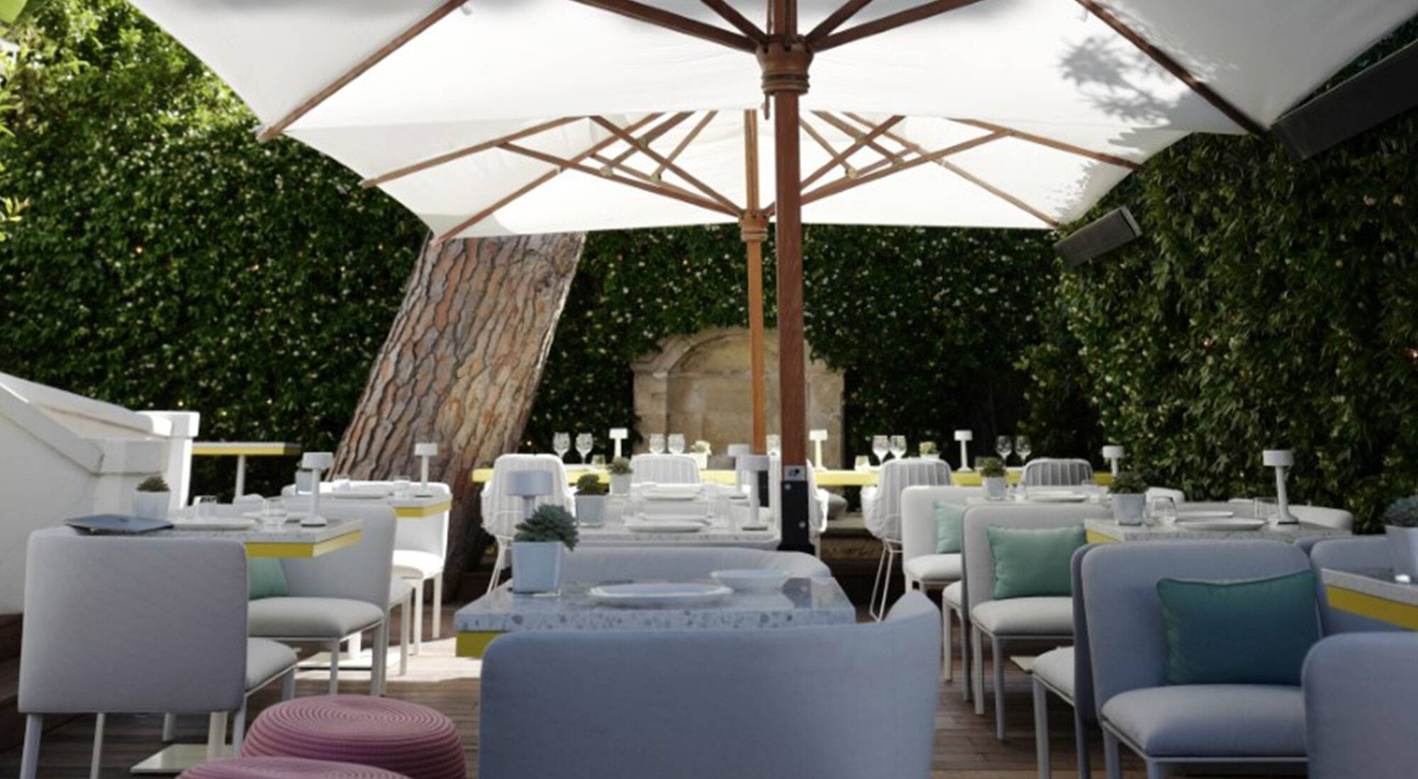 Le White 1921 In Saint Tropez Operated By Lvmh Hotel Management Hosts Toshare A New Cafe Restaurant Concept By Chef Jean Imbert And Pharrell Williams Lvmh